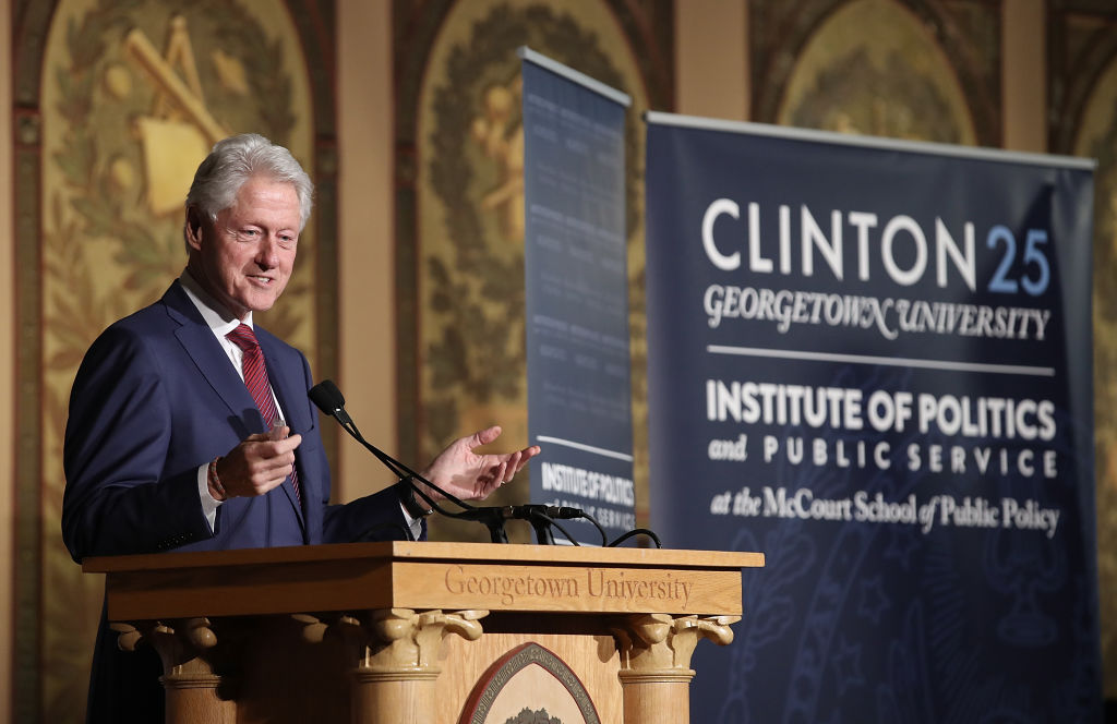 another presidential victory for bill clinton Read in another language bill clinton he scored a resounding victory in after hillary clinton's presidential campaign was over, bill clinton continued to.