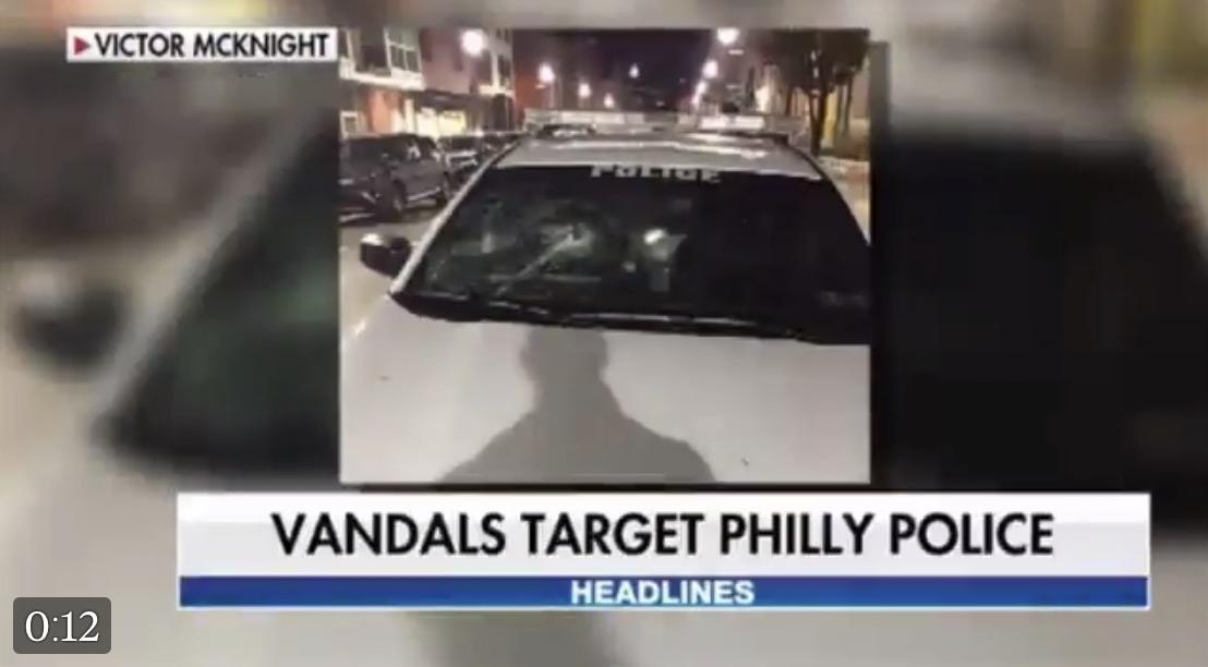 Masked Anarchists Vandalize Philadelphia Police Station ...