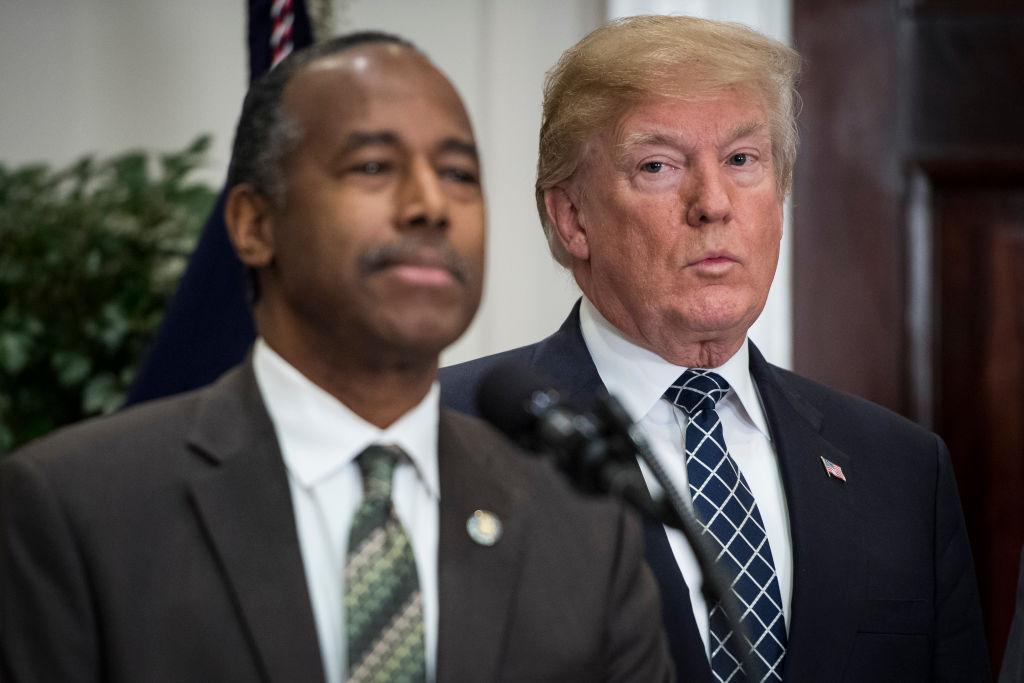 Did Ben Carson Just Throw Trump Under the Bus?
