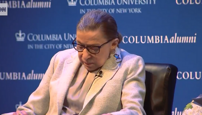 Justice Ginsburg Takes LONG Pauses, Spaces Out During Interview - Sparks RETIREMENT Rumors (Video)