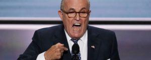 Rudy Giuliani Maxine Waters