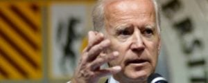 Joe Biden heckler