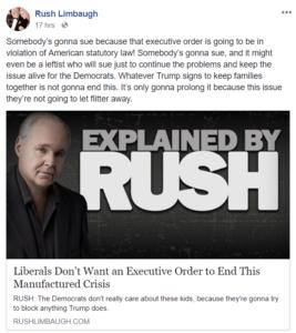 Rush Limbaugh IG Report