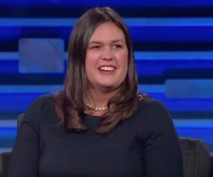 Sarah Huckabee Sanders interviewed by her dad