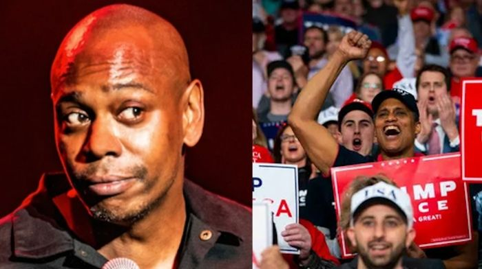 Image result for Dave Chappelle: 'I don't look at Trump supporters as my enemy'""