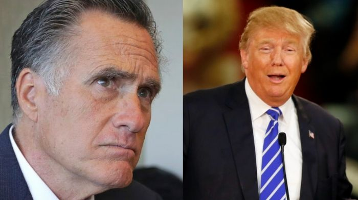 Mitt Romney hit with new Republican resolution that would force him to support Trump or give up his seat