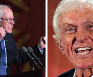 Dick Van Dyke Bernie Sanders