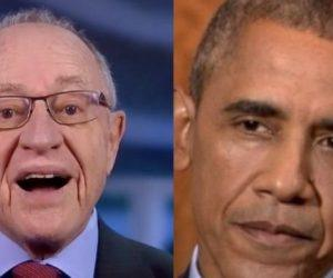 Dershowitz Obama