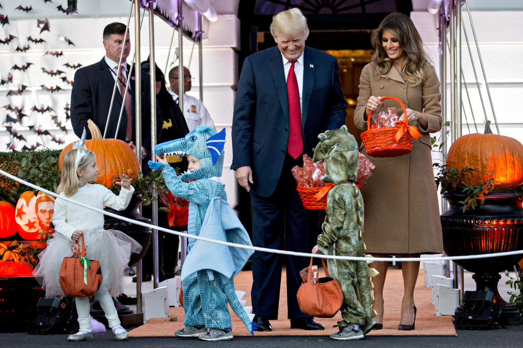 donald trump halloween