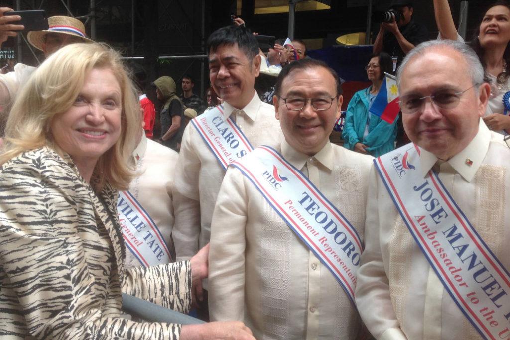 Carolyn Maloney Philippines