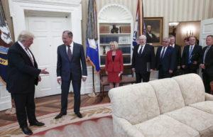 russia spy oval office