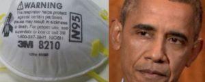 Masks Obama