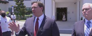 Governor Ron DeSantis Says Florida Won't Go Into Lockdown Again
