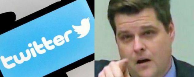 Twitter Gaetz