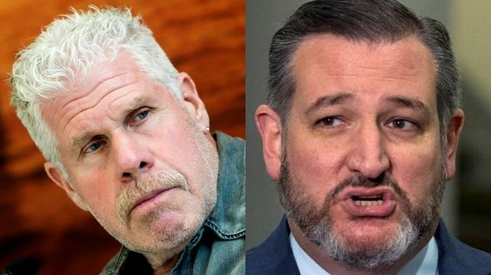 Ted Cruz challenges 'Hellboy' Ron Perlman to wrestle Jim Jordan; more