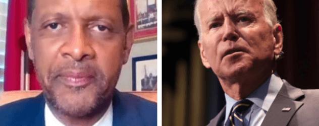 Vernon Jones Declares 'I Am Black And I Am A Democrat. But I Ain't Voting For Joe Biden'