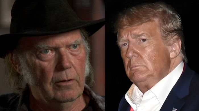 Neil Young sues Donald Trump campaign over unauthorized song usage