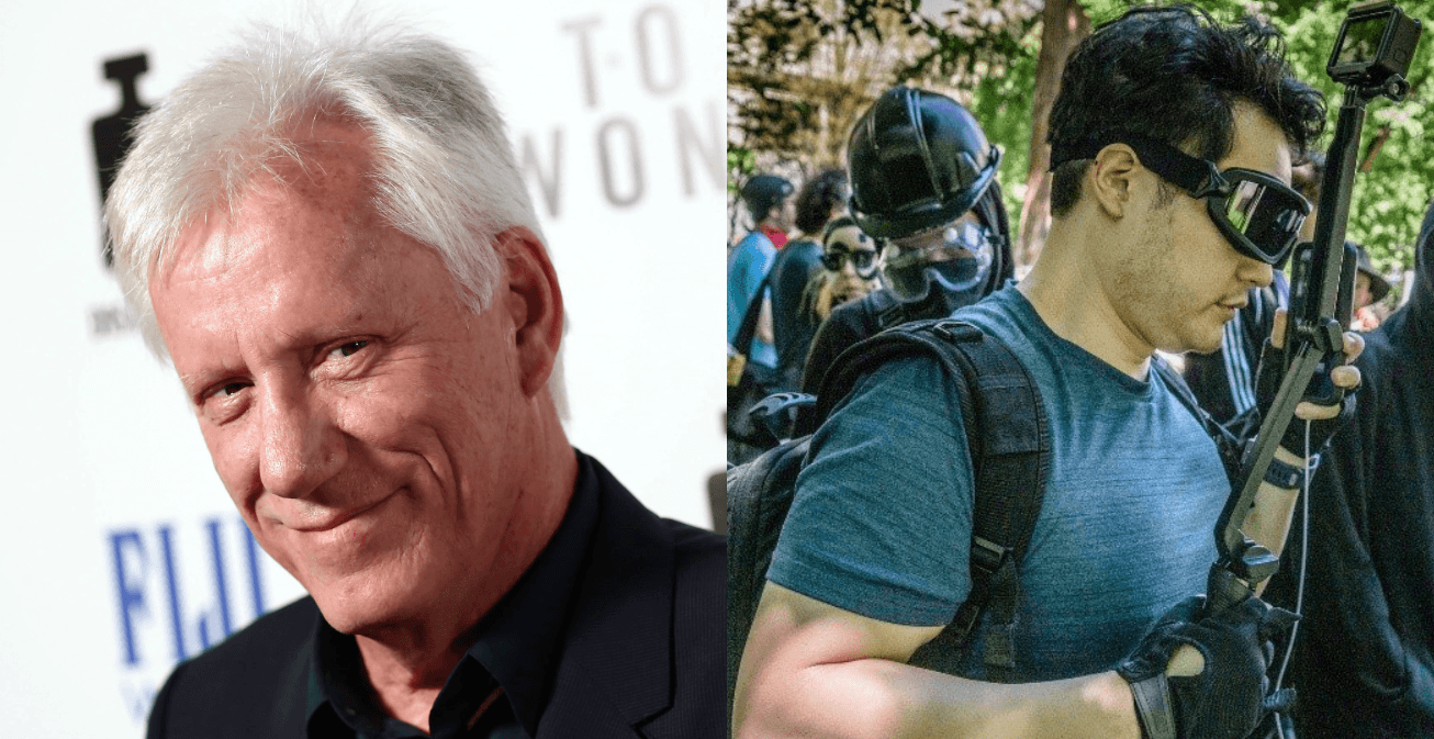James Woods Applauds Andy Ngo For Risking It All To Cover Antifa Domestic Terrorism In Portland