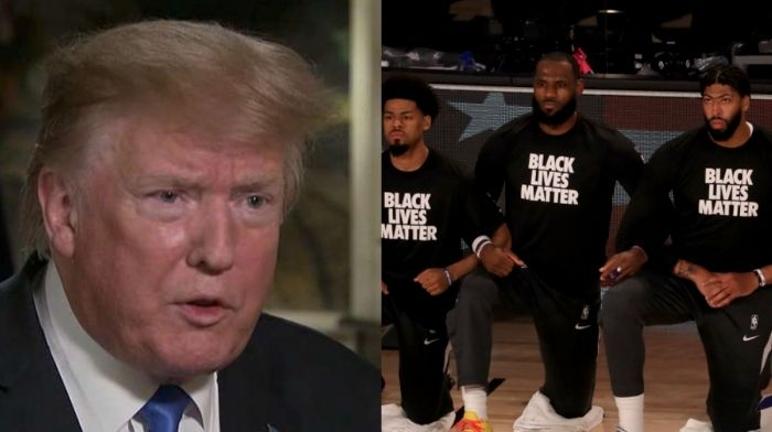 LeBron James: NBA Won't Miss Trump as a Fan