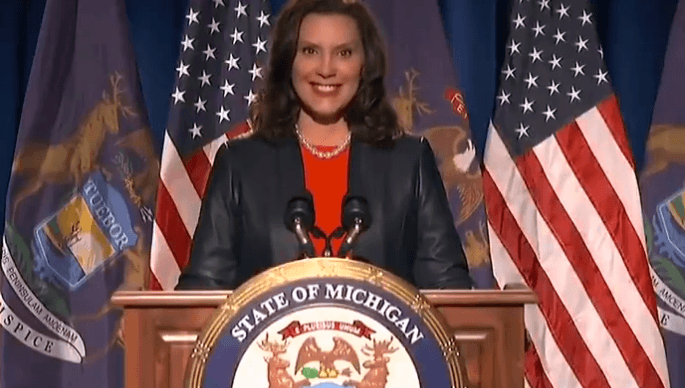 Gov Gretchen Whitmer Builds Big Beautiful Wall Around Her Home Makes Michigan Pay For It The Union Journal