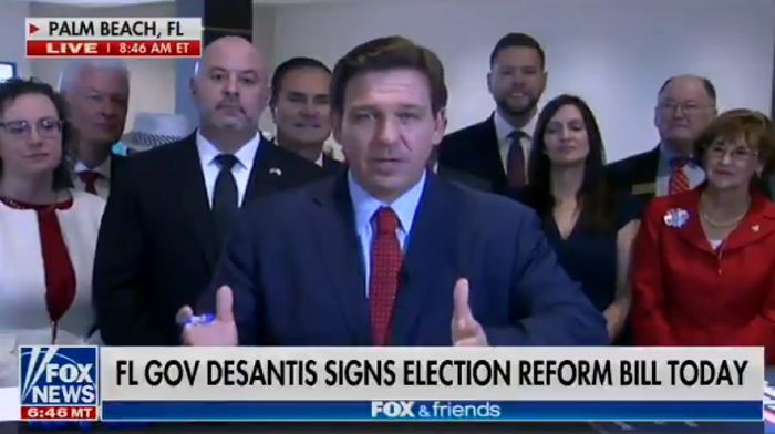Media Furious As Florida Gov. DeSantis Blocks Everyone But Fox News From Bill Signing Event