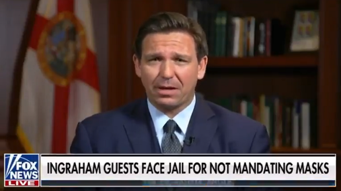 Florida Gov. DeSantis To Pardon Everyone Charged With Violating COVID Restrictions