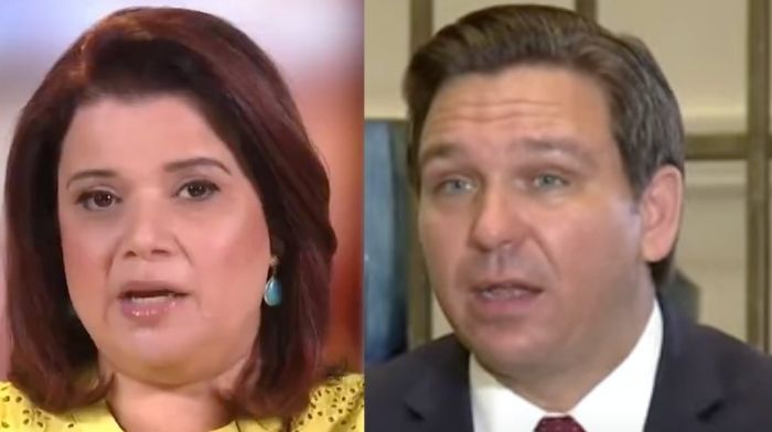 'The View's' Ana Navarro Rips DeSantis For 'Grotesque' Anti-Fauci Beer Koozies – 'Irresponsible'