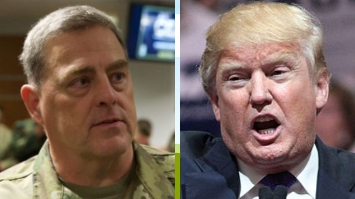 Trump responds to claims that General Milley feared a coup: 'I don't like a coup!'