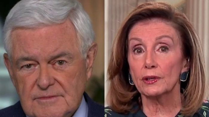 Newt Gingrich criticizes 'dictator Pelosi' for having 'no respect for the rule of law'