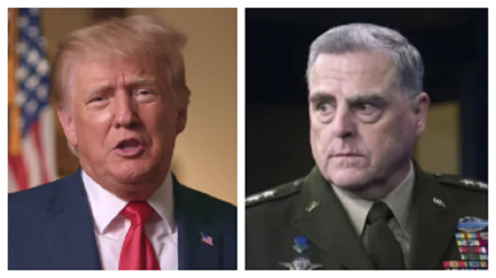 Trump: 'Dumbass' General Milley Should Be Tried For Treason if China Story Is True
